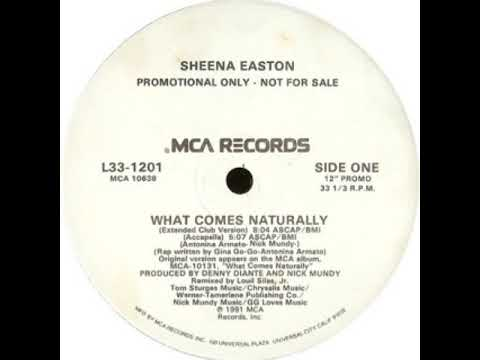 Sheena Easton - What Comes Naturally (Accapella)