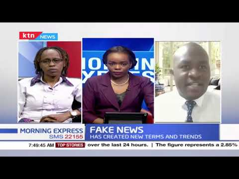 Fake News: The Information vice debunked by Managing Editor Standard digital & Editor Africa Check