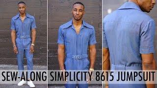 SEW-ALONG: SIMPLICITY JUMPSUIT 8615