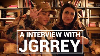 "JGRREY Interview   ""It's Like A Happy Accident"""