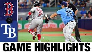 Momenti salienti del gioco Red Sox vs. Rays (8/1/21)   Punti salienti della MLB