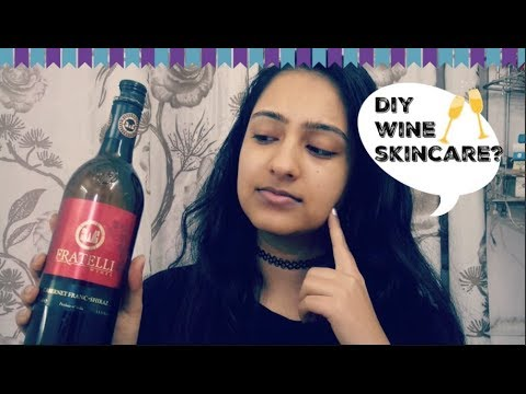 PUTTING RED WINE ON MY FACE FOR SKINCARE?