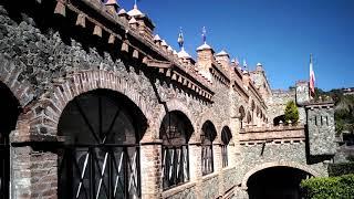 Despertamos En El Hotel, Castillo De Santa Cecilia! Se Ve Espectacular