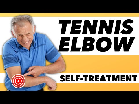 "Video An effective self-treatment for ""Tennis Elbow""."
