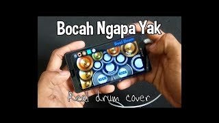 BOCAH NGAPA YAK - WALI | TIK TOK ( REAL DRUM COVER )