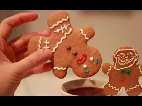 Galletas de Jengibre (Gingerbread Man) - Galletas de Navidad