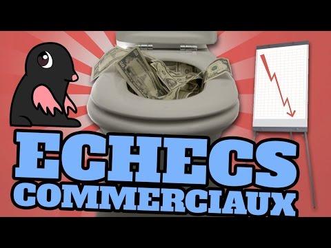 , title : 'TOP 10 des ECHECS commerciaux des grandes entreprises