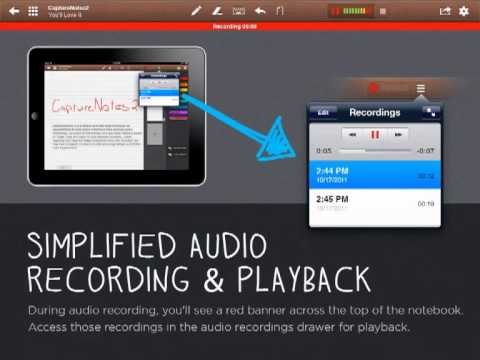 CaptureNotes Offers Syncing, Audio Recording And Flagged Notes