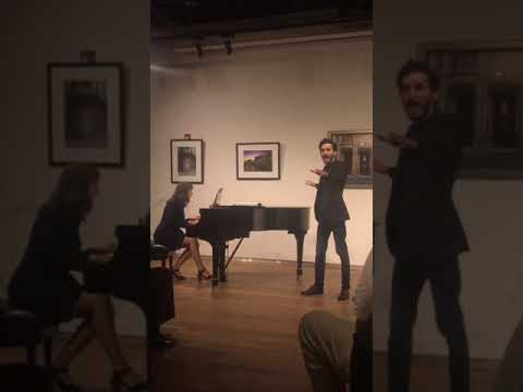 """Javier performs """"The Music of the Night"""" at Miami Music Festival's Broadway Night Event."""