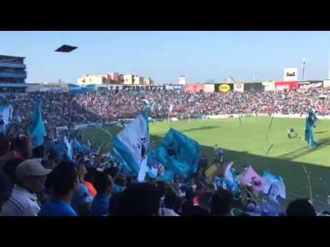 """Impresionante recibimiento de la jaiba brava tampico madero vs potros UAEM lleno TOTAL Terrorizer"" Barra: La Terrorizer • Club: Tampico Madero"