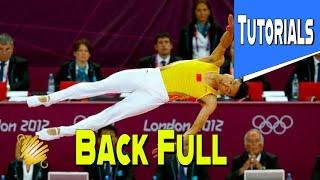 Trampoline Gymnastics Tutorial: How To Do Backfull Easy
