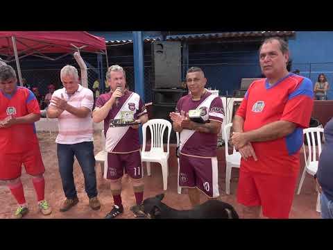 Vice-prefeito Bernardo volta na falar da Grama Sintética  agora no jogo dos Masters com a presença do Deputado estadual Ênio Tatto