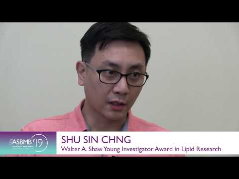 Shu Sin Chng: Walter A. Shaw young Investigator Award in Lipid Research