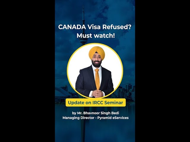 CANADA Visa Refused? Must Watch !