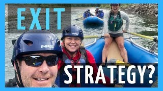 RV Living Full Time - What Is Your Exit Strategy? Whitewater Rafting Glacier National Park!