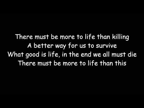 There Must Be More To Life Than This - Michael Jackson & Freddy Mercury (Lyric Video)