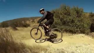Castaic Tapia Canyon single tracks