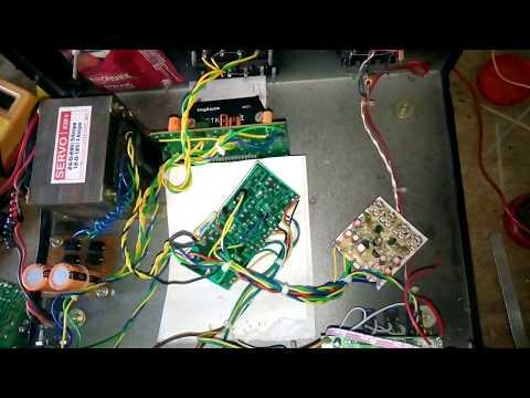 2 channel stk 4141 amplifier set