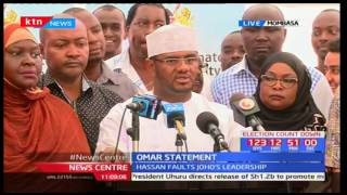Senator Hassan Omar wants Governor Joho investigated over alleged forgery of documents