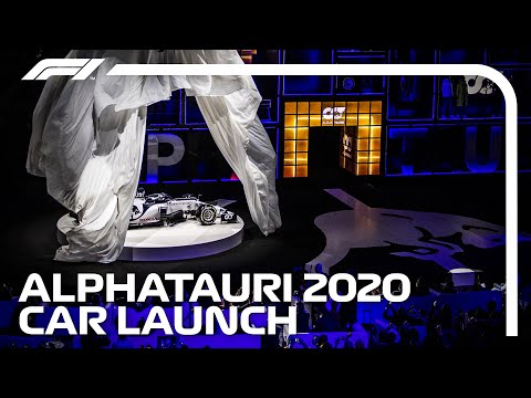 LIVE: AlphaTauri 2020 Car Launch