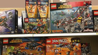 LEGO Summer 2016 Spider-Man, Ninjago, Batman sets at Target in the US!