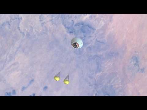 NASA's Orion Crew Module Includes Majestic Ejection System
