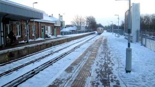preview picture of video 'Class 73 on deicing duties at Reigate station'