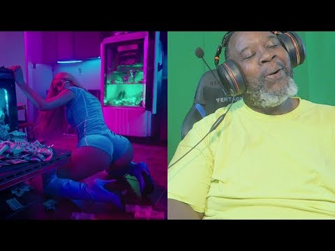 Dad Reacts to Iggy Azalea - Kream ft. Tyga (Official Music Video)