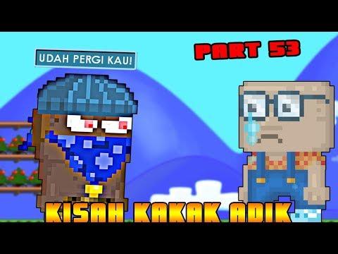Kisah Kakak Adik New Series part 53 | GROWTOPIA INDONESIA
