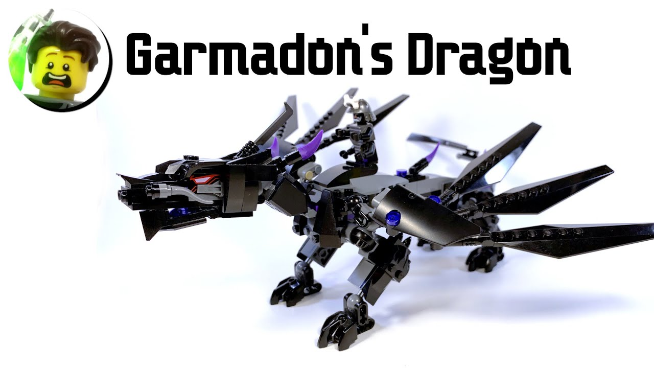 LEGO Garmadon's Elemental Dragon