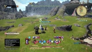 FF14 Stormblood exploration fun time