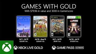Games With Gold di luglio 2021