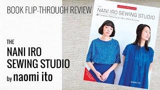 Book Flip Through Video Of The Nani Iro Sewing Studio (English)