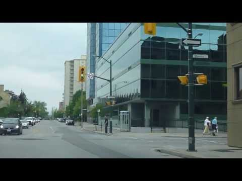 Downtown London, Ontario Going West on D