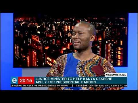 Cekeshe's application for presidential pardon from President