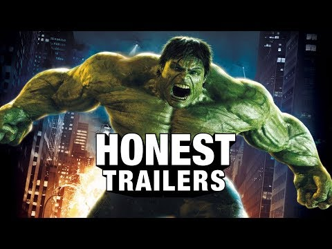 An Honest Trailer for The Incredible Hulk