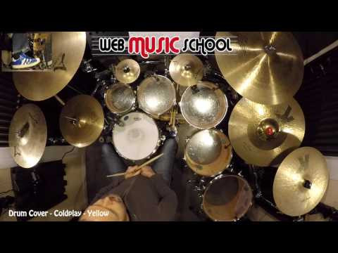 Coldplay - Yellow - DRUM COVER Mp3
