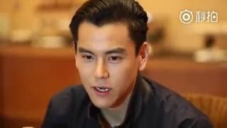 Eddie Peng interview in  2 Language.