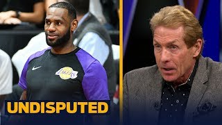 Skip Bayless predicts LeBron will win MVP and scoring title in 1st year in LA   NBA   UNDISPUTED