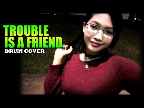 Lenka - Trouble Is A Friend Drum Cover by Nur Amira Syahira