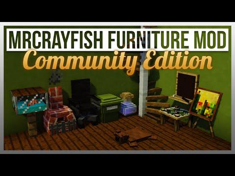 18918 MrCrayfishs Furniture Mod Community Edition A Community Based Furniture Mod