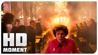 Братья Рона устроили салют в Хогвартсе - Гарри Поттер и Орден Феникса (2007) - Момент из фильма