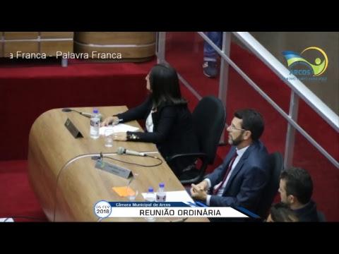 Reunião Ordinária (05/02/2018) - Câmara de Arcos