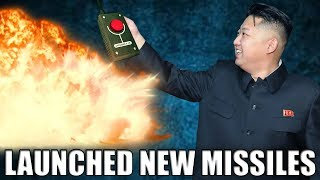 North Korea Launches New Missile As Kim Jong Un Threatens All Out War
