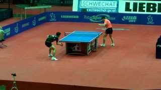 Ma Long Vs Zhang Jike - Austrian Open