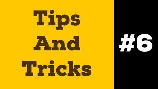Tips And Tricks #6 | Соединенный Контур и Обтравочная Маска