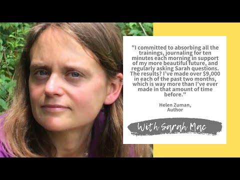 Helen Zuman Author Client Testimonial With Sarah Mac