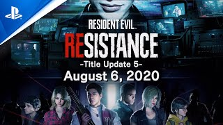 Xbox Resident Evil Resistance - August Title Update and RE2 Costumes Trailer | PS4 anuncio