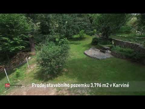 Prodej stavebního pozemku 3796 m2 Karviná