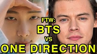 For The Win: BTS vs One Direction